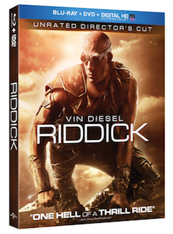 Riddick Blu-ray cover