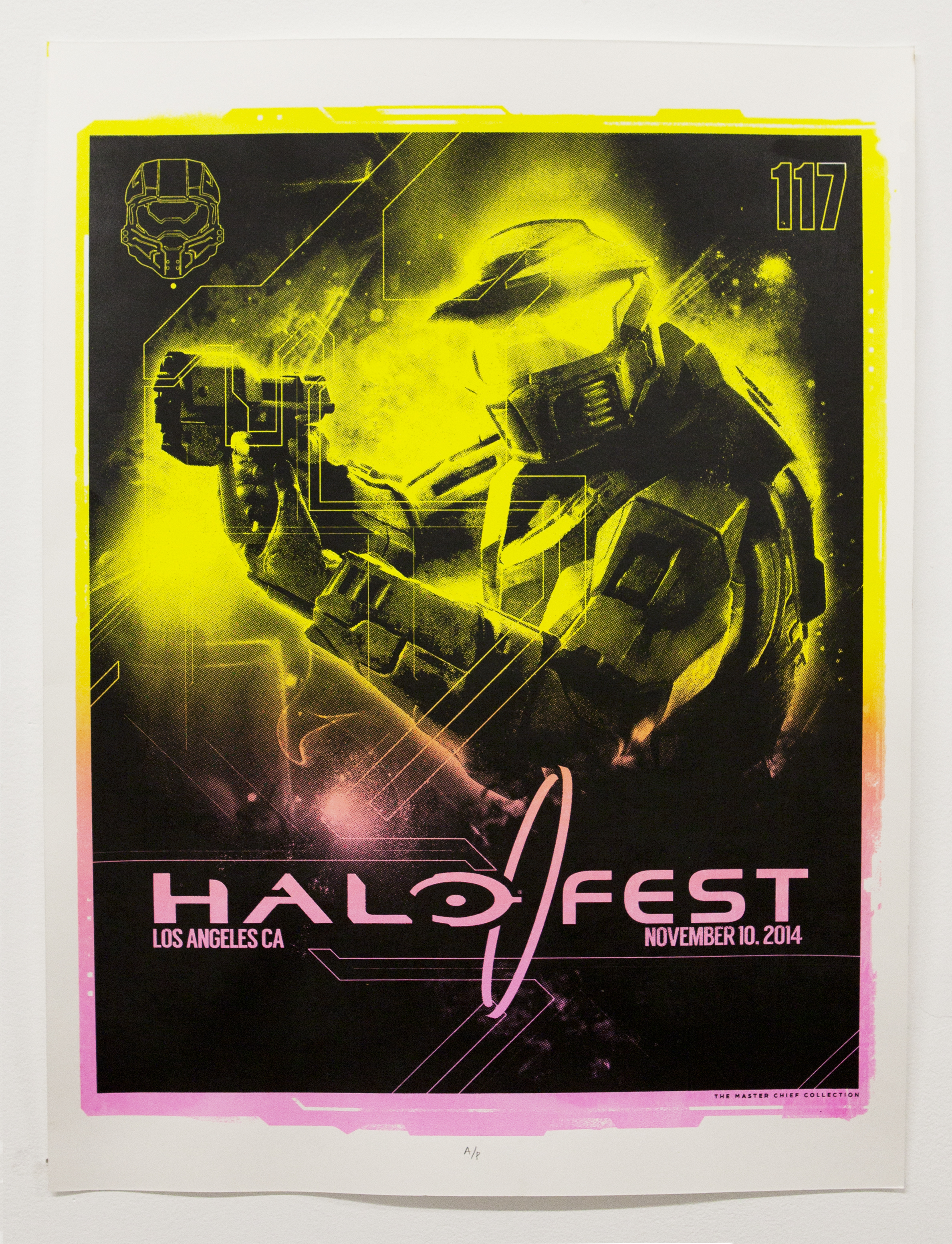 Halo: The Master Chief Collection and Limited Edition HaloFest Posters