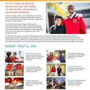 City Year – Develop Leadership Skills While Helping Others