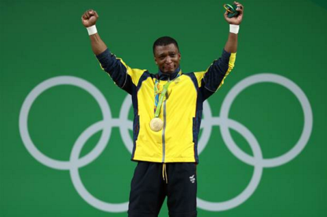 Oscar Figueroa, Colombia - Weight lifting