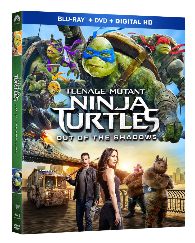 TMNT2 Combo Pack box art